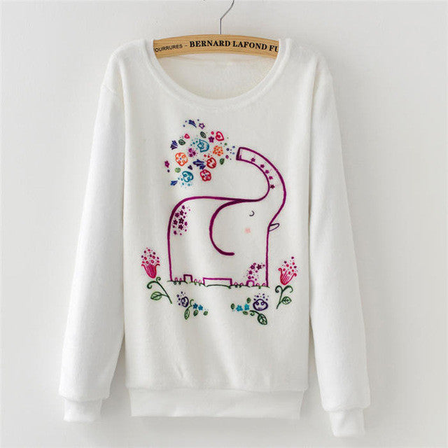2016 Fashion Women Tops hoodies sweatshirts Cute Dream Catcher