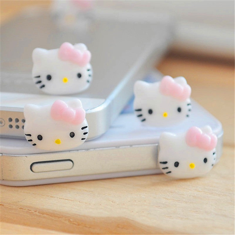 Anti Dust Plug Cap Cell Phone Earphone Plug Accessories For Iphone 6