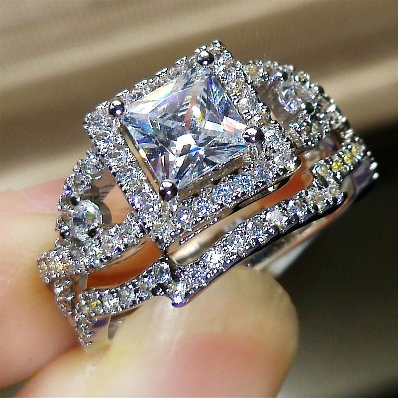 Womens jewelry vintage ring wedding engagement women rings bijoux ring