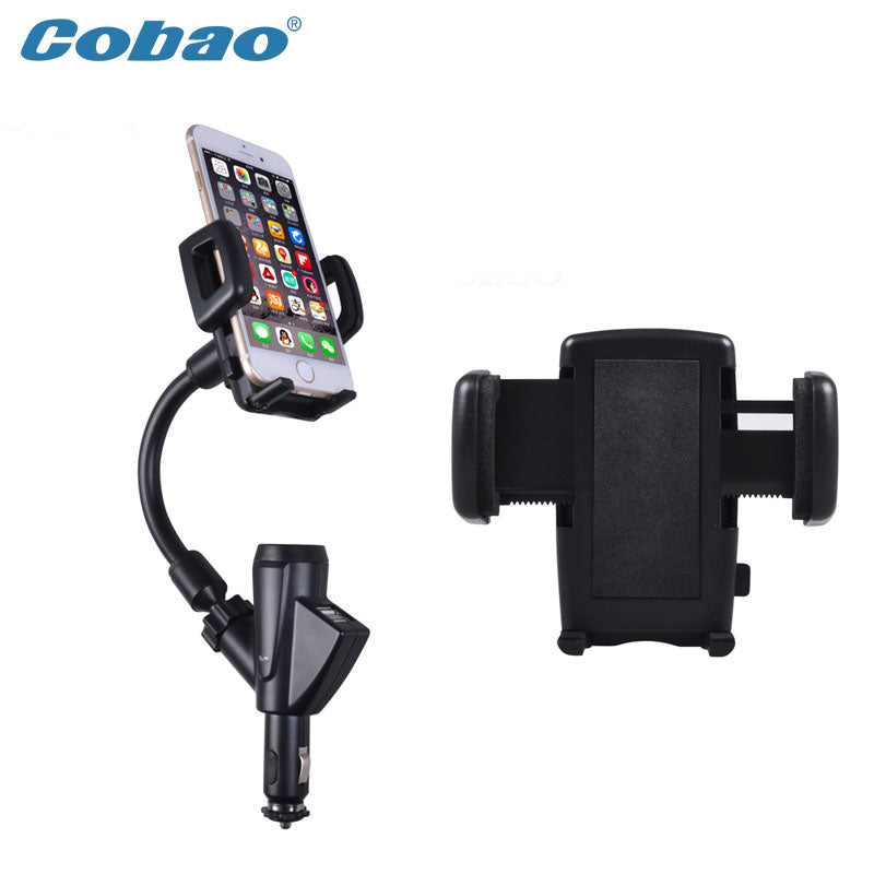 Caobao holder phone charger mobile phone accessories dual usb car