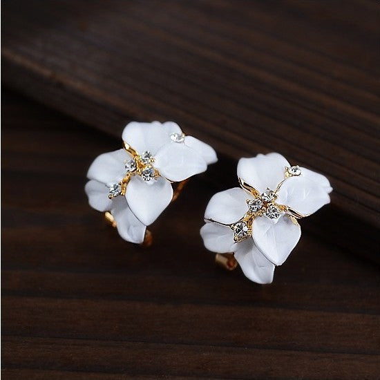 2017 New Hot ! Fashion Fine Jewelry Gold Color Elegant Double