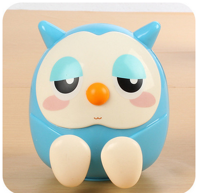 Candy Color Universal Cute Owl Pattern Phone Stand Holder for cell