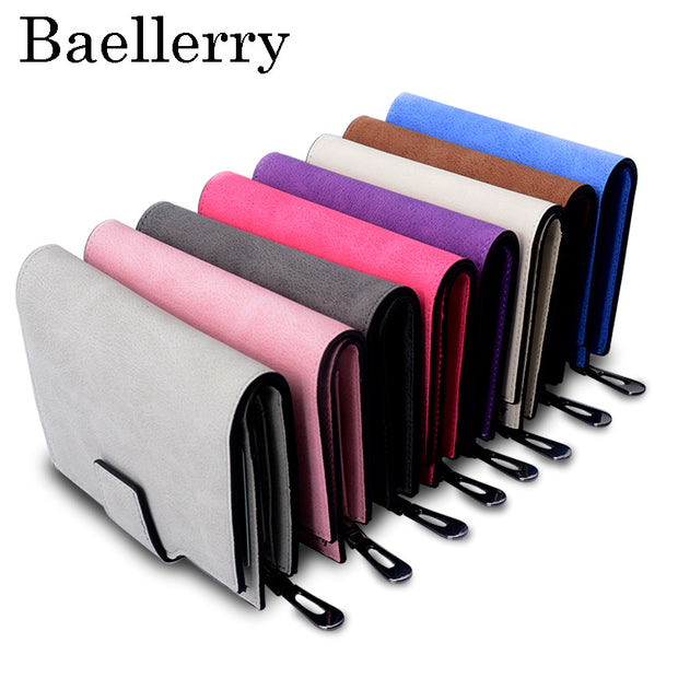 Wallet Women Vintage Fashion Top Quality Small Wallet Leather Purse