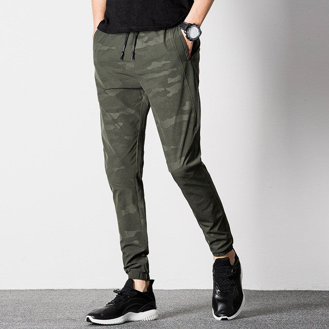 2017 Men Joggers summer Army Casual Harem Pants Mens Camouflage