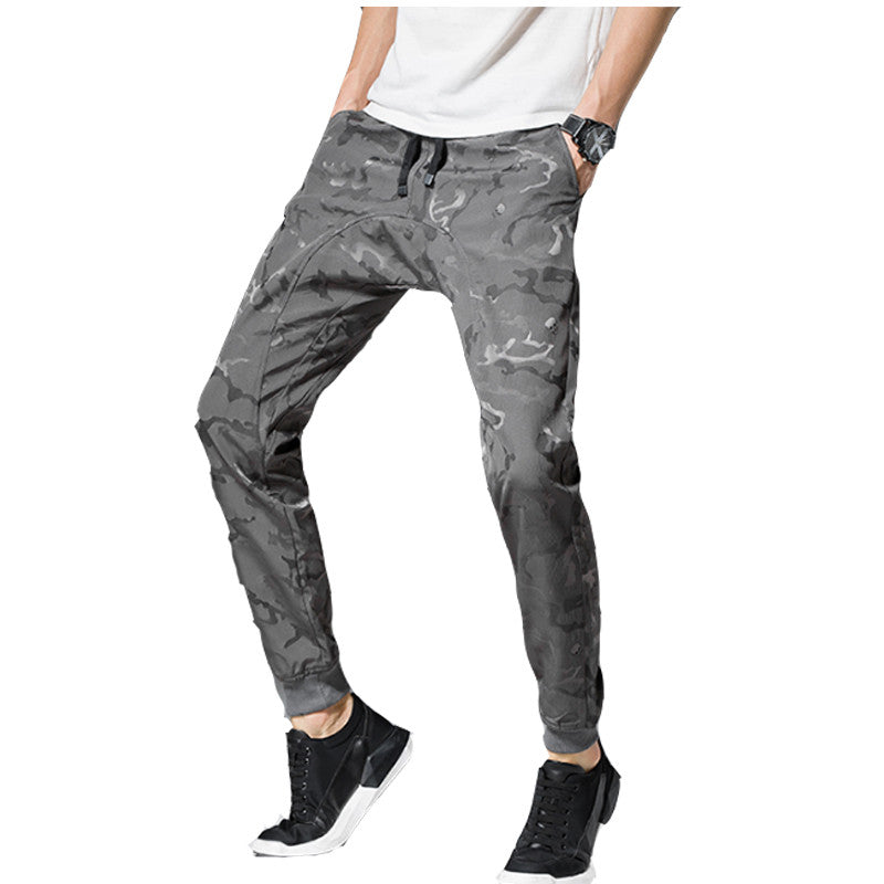 2017 Men Pants Jogger Sportwear Baggy Harem Pants Slacks Hip Hop