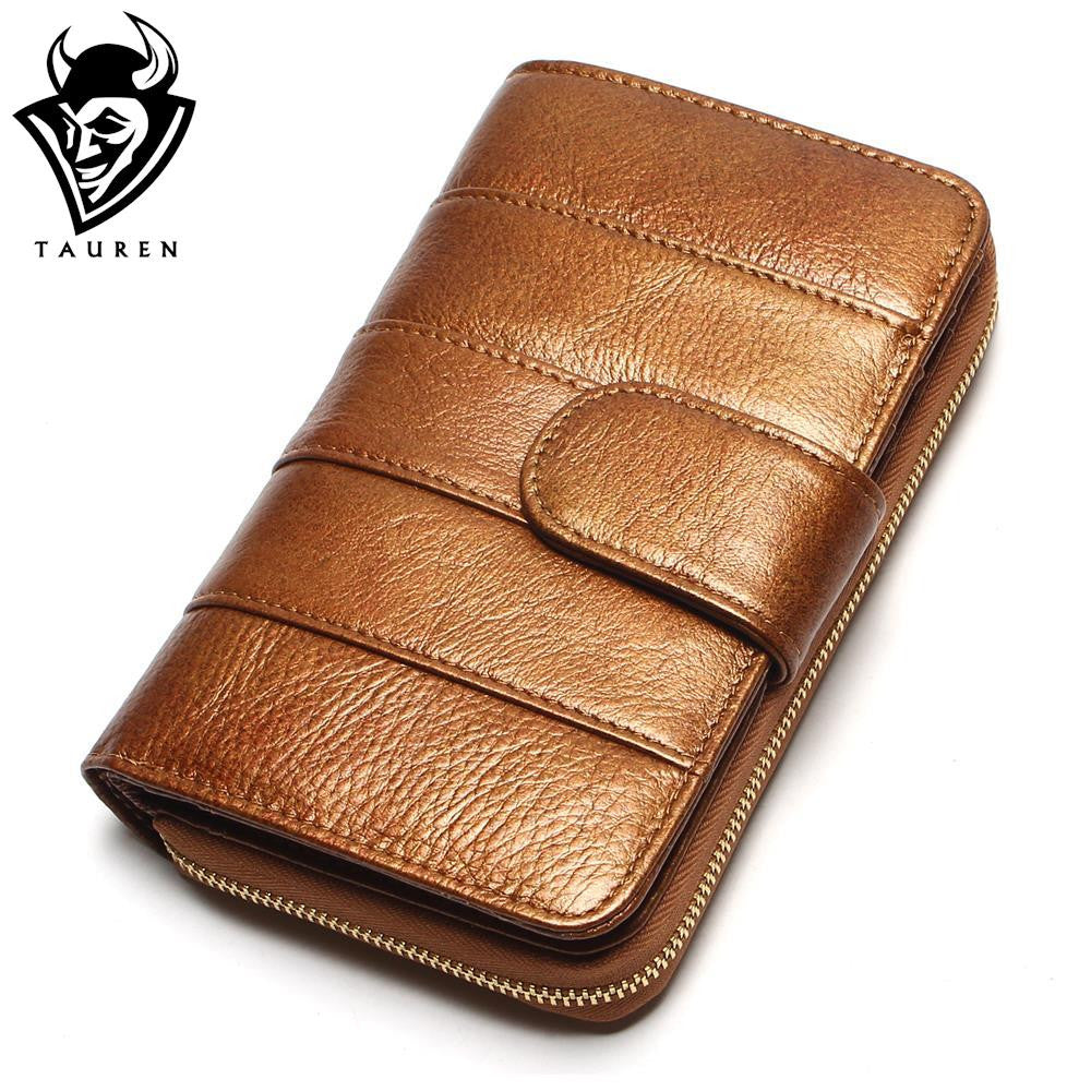 2017 New Style Women Wallets Brand Design High Quality Genuine Leather