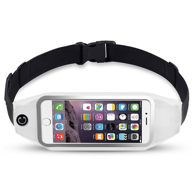 Ascromy Running Belt Waist Pack for iPhone 7 6S 6 Plus 5 Galaxy S5