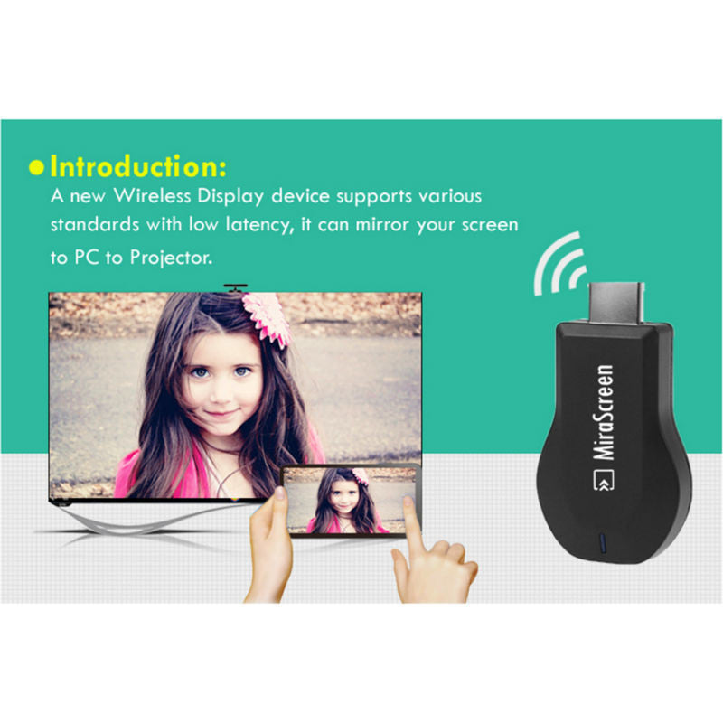 2017 New TV Stick Full HD 1080P DLNA Dongle Adapter Miracast HDMI WIFI