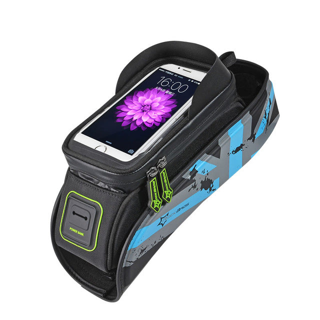 ROCKBROS MTB Road Bicycle Bike Bags Rainproof Touch Screen Cycling Top
