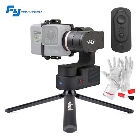 FeiyuTech Feiyu WG2 FY-WG2 with Remote Control 3-Axis Wearable Waterproof Gimbal for Gopro 4/5/Session and Similar Size Cameras