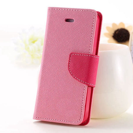 KISSCASE For iPhone 5S SE Phone Case Leather Flip Case For Apple