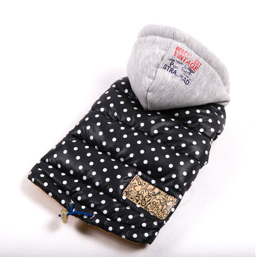 2017 Dog Winter Jacket Clothes For Small Dogs Waterproof Spots Pet