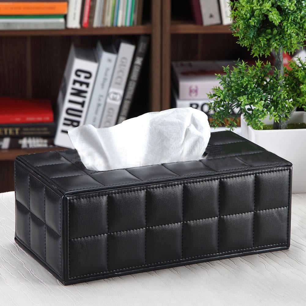 2017 Hot Container Household Table Adornment Plastic Tissue Boxes