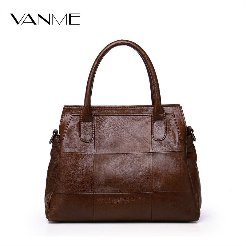 2017 Hot Women Vintage Genuine Leather Bags Women Handbag Female