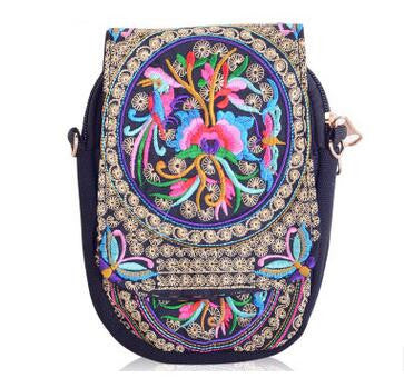 2017 New All-Match Double-face embroidery bags!Hot Embroidery Lady