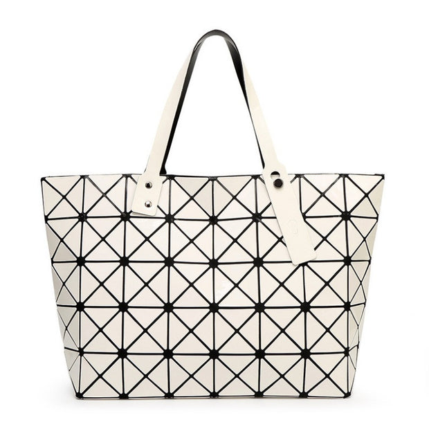BaoBao Women Bao Bao Bag Ladies Geometric Sequins Mirror Saser Plain