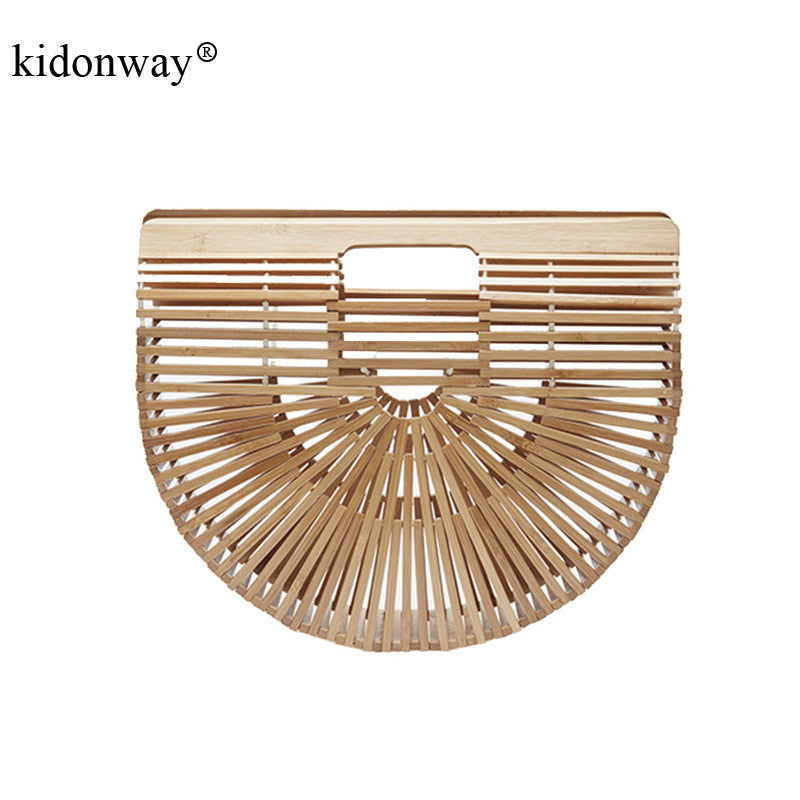 2017 New Luxe Beach Bag for Women Famous Brand Bamboo Handbags