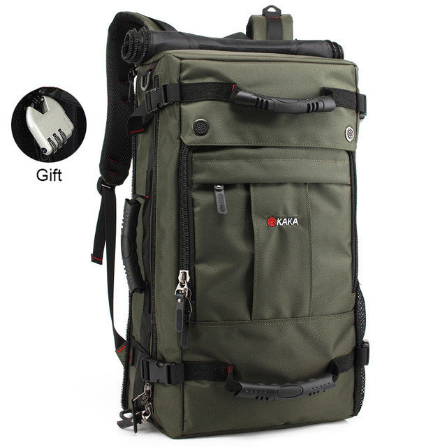 [Marte&Joven] High Quality Multi-function Men's Trekking Travel Bag