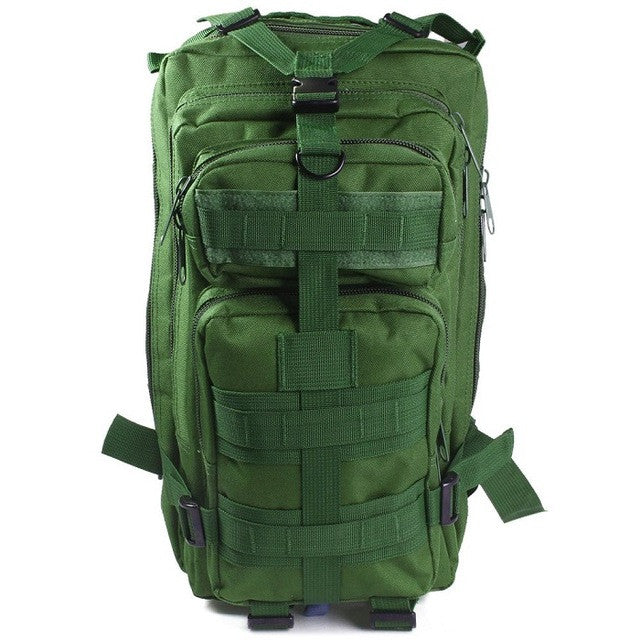 2017 Men Women Outdoor Camping Hiking Backpack 3P Military Army