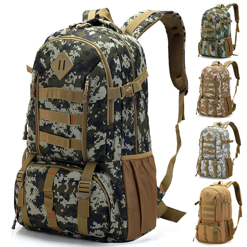 2017 Hot Men Women Outdoor Military Tactical Backpack Camping Hiking