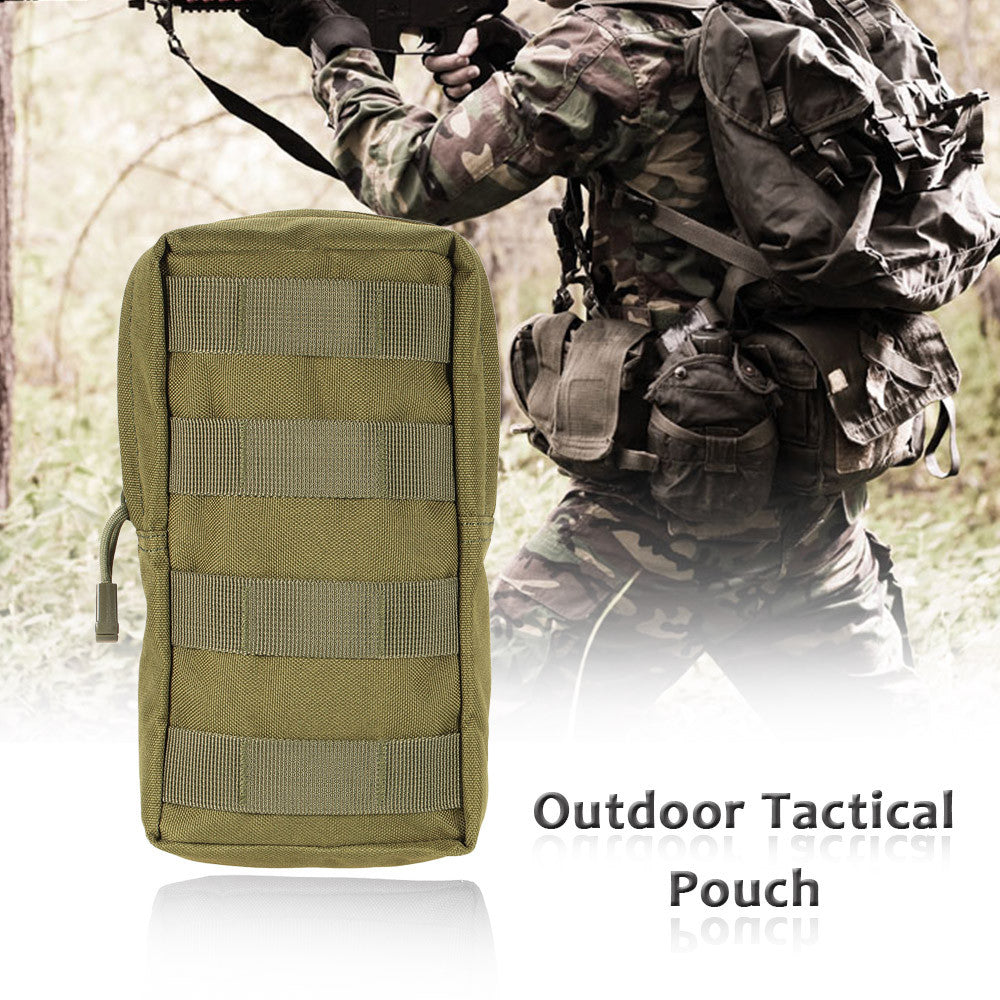 1PCS Tactical Pouch Outdoor Nylon Military Compact Carrier Pouch Bag
