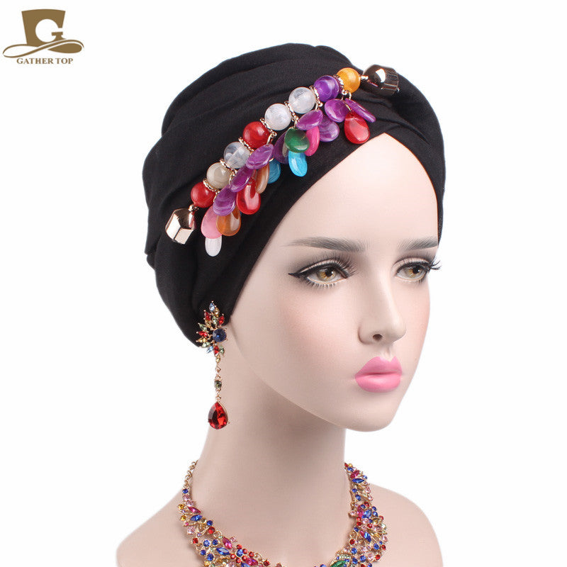 2017 NEW marble stone Pendant head Scarf headscarf hijab turban soft