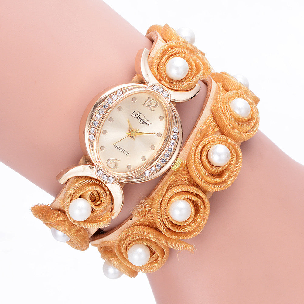 2017 Luxury Ladies Watches Female Chic Inlaid Diamond Alloy Fashion