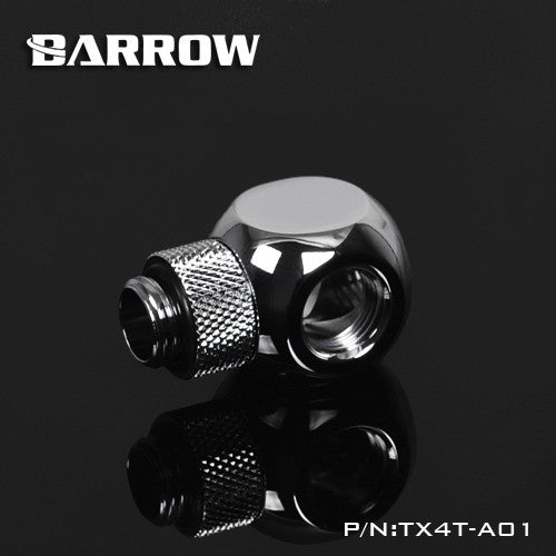 "Barrow G1 / 4 ""X4 Black  silver Extender rotation 4-Way cubic"