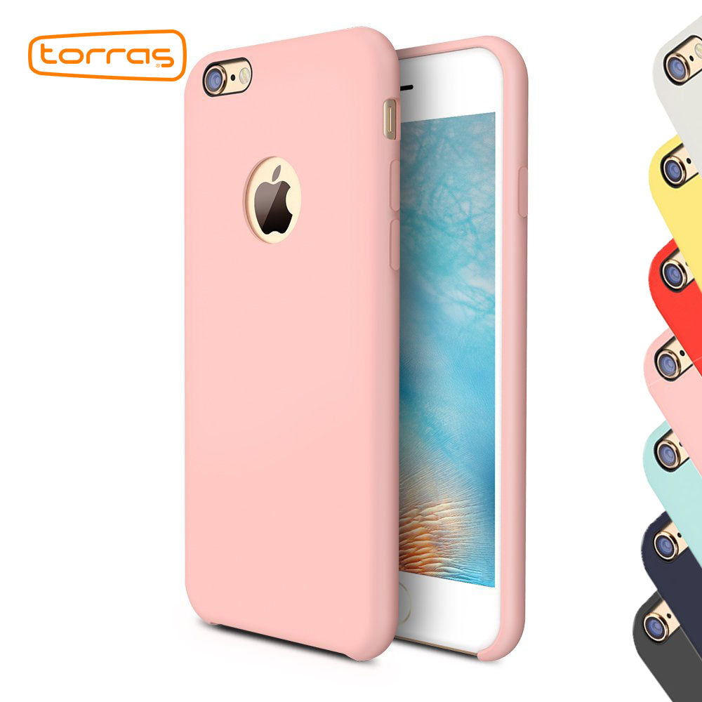 TORRAS Soft Rubber Silicone Case for iPhone 6 6s 6 plus Magnet Suction