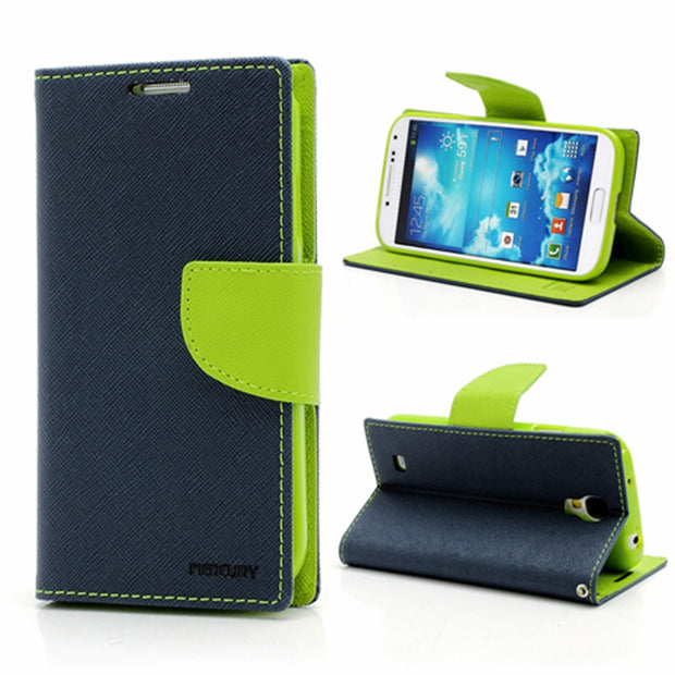 Original Goospery Wallet Stand Flip Case for Samsung Galaxy S3 S4 S5