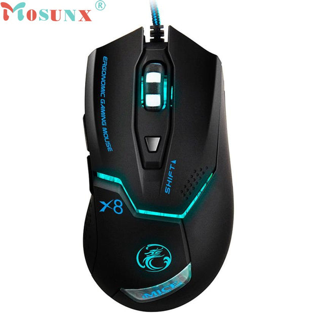 LED Mouse Gamer X8 Optical 6D USB Wired Gaming Mouse For Your Computer