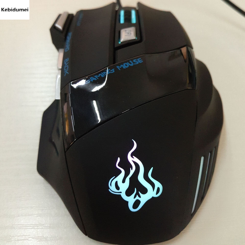 2016 Newest Professional computer accessories Wired Gaming Mouse 7