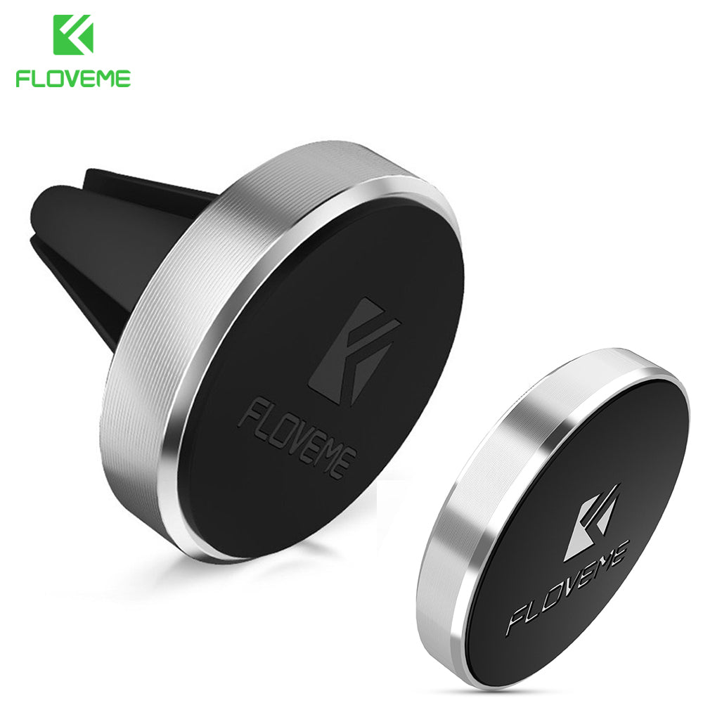FLOVEME Two Universal Magnetic Car Phone Holder For iPhone Samsung