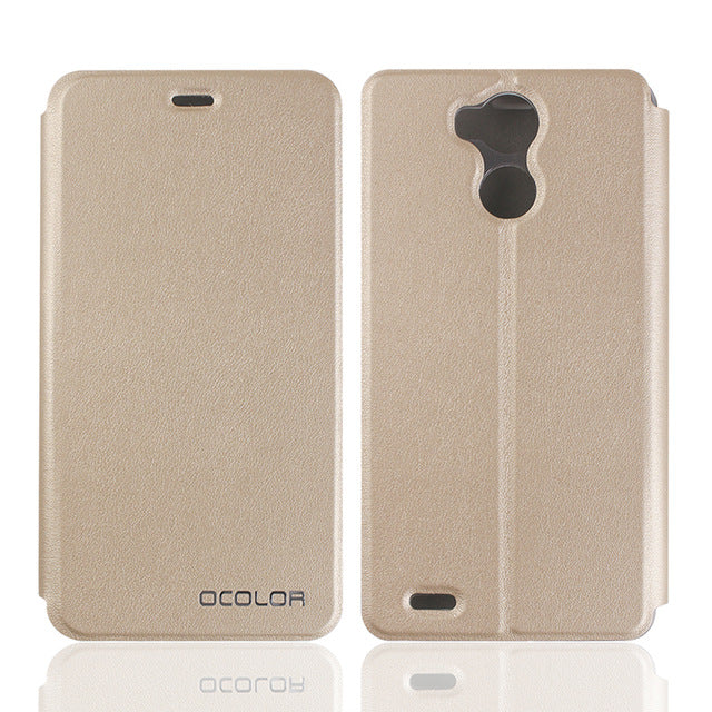 For Blackview R6 Leather Case Flip Cover With Silicon Cases Original