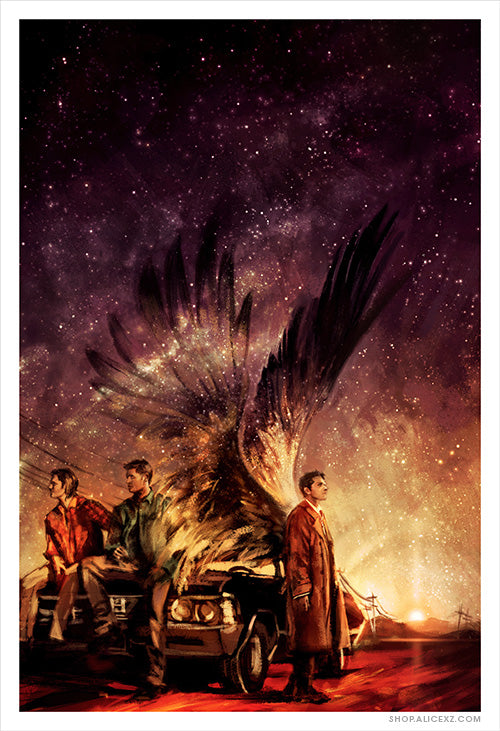 """Carry On My Wayward Son"" Print"