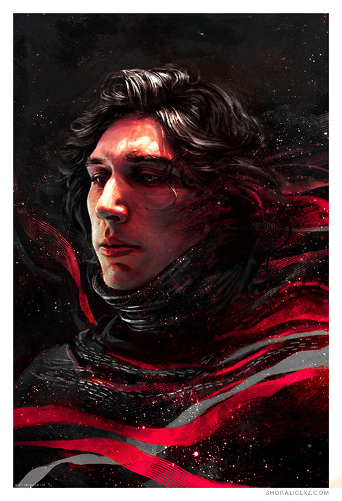 """Kylo: The Knight of the First Order"" Print (AP)"