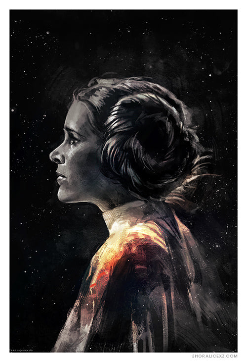 """Leia: The Last of Alderaan"" Print (AP)"