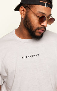 TOONSQUAD Tee (Silver)
