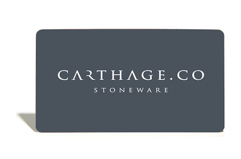 Gift Card - carthage.co