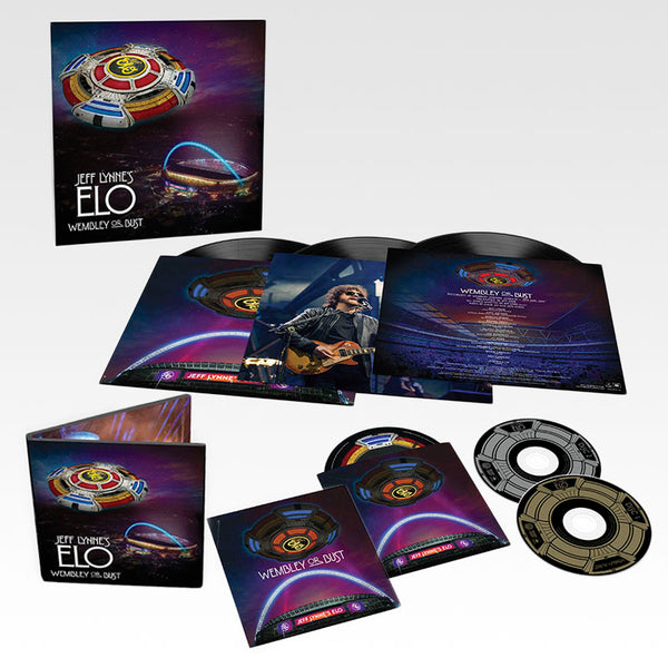 JEFF LYNNE'S ELO - Wembley or Bust 3LP + 2CD/BLURAY
