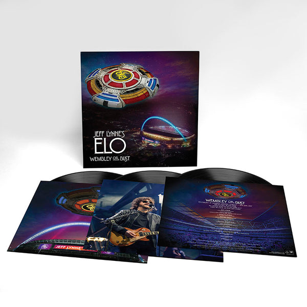 JEFF LYNNE'S ELO - WEMBLEY OR BUST 3LP