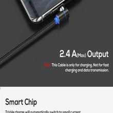 Load image into Gallery viewer, 3 in 1 360° Magnetic Charging Cable for Huawei iPhone Samsung