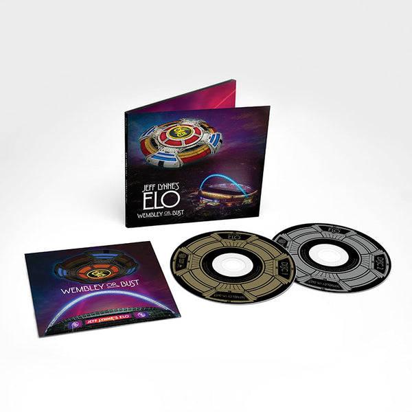 JEFF LYNNE'S ELO - WEMBLEY OR BUST 2CD