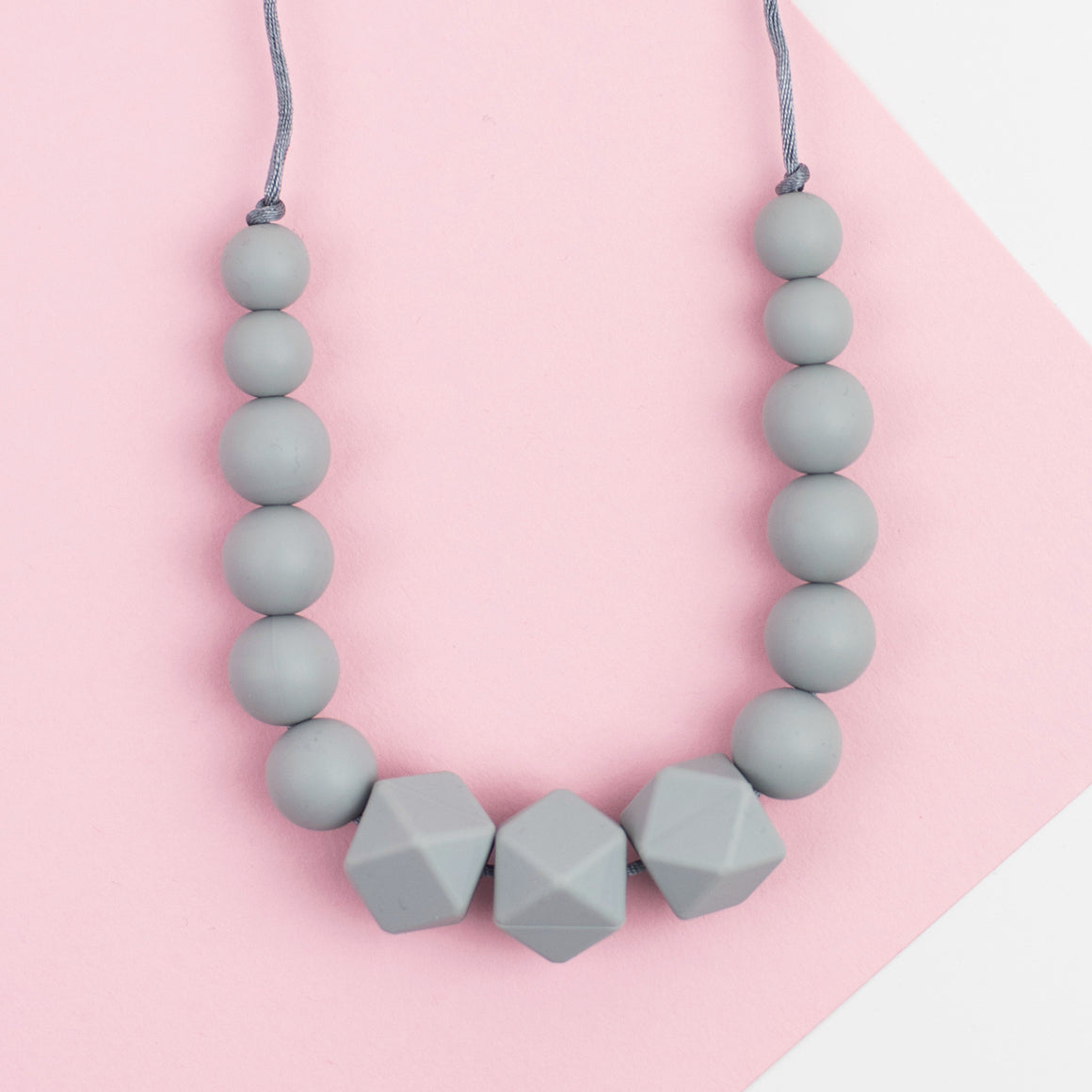 Lady Grey Teething Necklace - Sebandroo