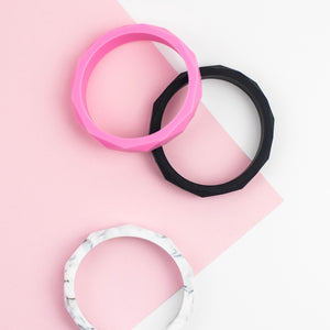 Teething Bangle - Black - Sebandroo