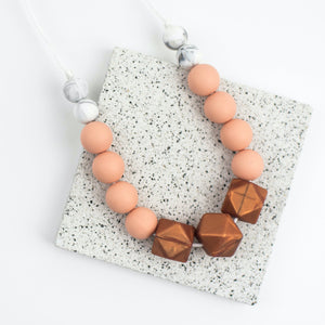 Seb&Roo - Copper Teething Necklace
