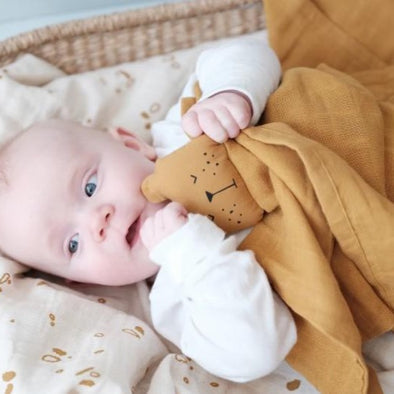 Fabelab Comforter Toy in Mustard