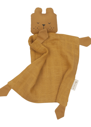 Fabelab Cuddle Bear Comforter in Ochre
