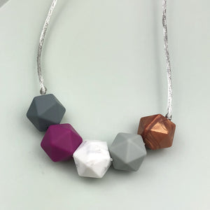Simple Silicone Teething Necklace
