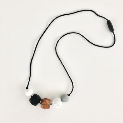 Modern Silicone Teething Necklace